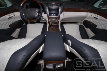 Lexus LS Перетяжка салона
