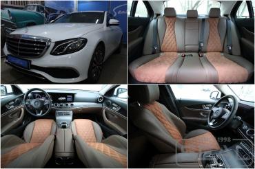 Mercedes E-klasse w213 Перешив сидений