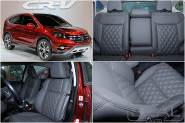 Honda CR-V Пошив салона