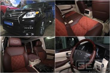 Lexus LX570 Перешив салона