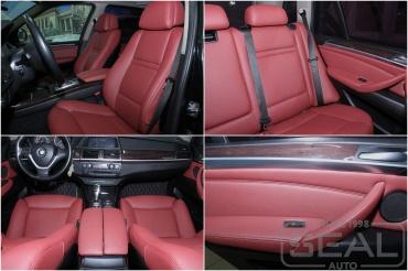 BMW X5 Перетяжка салона