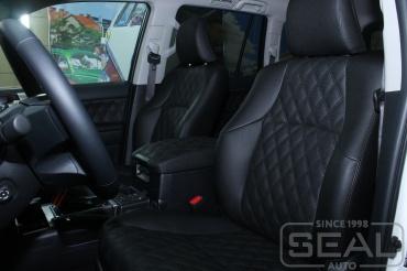 Toyota Land Cruiser Prado 150 Перетяжка салона