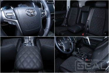 Toyota Land Cruiser Prado 150 Перешив салона