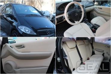 Mercedes A-klasse Пошив салона