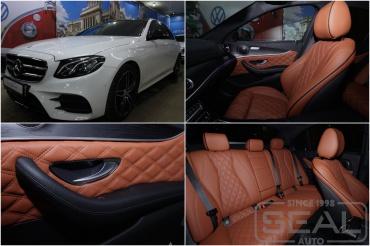 Mercedes E-klasse w213 Перешив салона