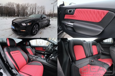 Ford Mustang Перетяжка салона