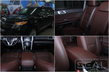 Ford Exploer Перетяжка автомобиля