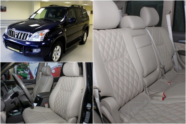 Toyota Land Cruiser Prado120 Перетяжка салона