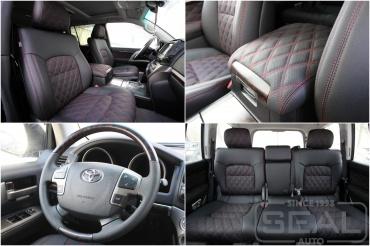 Toyota Land Cruiser 200 Пошив салона