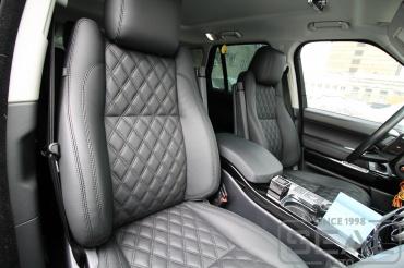 Range Rover Перетяжка салона