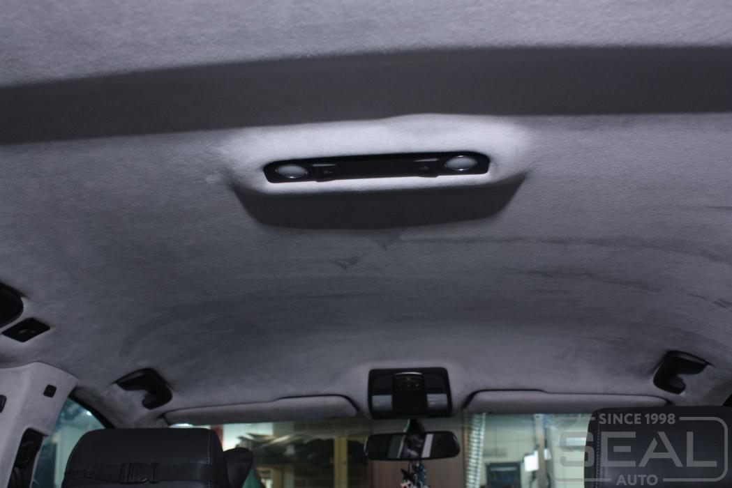 Перетяжка потолка автомобиля своими руками ауди 12