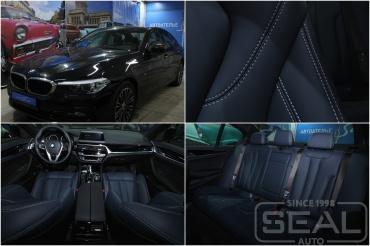 BMW 5series G30 Перетяжка сидений