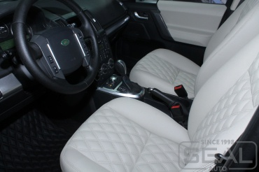Land Rover Freelander 2 Перетяжка салона